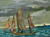 Zeesenboot vor Wustrow